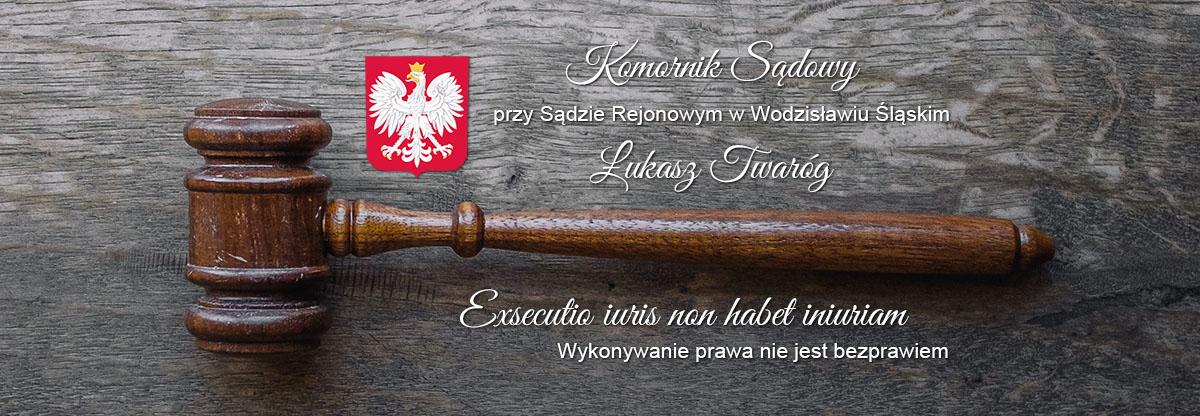 Komornik Sądowy Łukasz Twaróg Logo